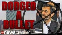 Secret Service Agent Almost Shot Iran's Pres. Outside U.N.   NewsBreaker   OraTV