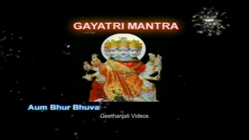 Sri Gayatri Mantra — Sanskrit