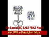 [BEST PRICE] 14K White Gold Round Diamond Stud Earrings (1.00 ct, H-I/SI) 14K White Gold Round Diamond Stud Earr