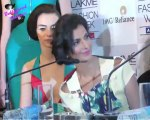 Parineeti Chopra walks the ramp for Masaba at  Lakme Fashion Week Summer  Resort 2013