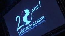 Théâtre à la Carte fête ses 20 ans à Bobino