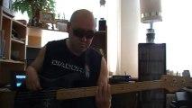 B. B. King The Thrill Is Gone Blues Funk Bass cover Bob Roha