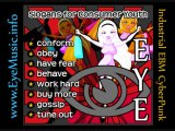 "Electro Industrial Aggrotech Cyber Goth EBM - EYE: ""Slogans!"" Electronic Body Music Bands, Australian"