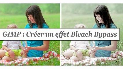 Tutorial GIMP: créer un effet Bleach bypass