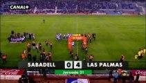 Liga Adelante  Sabadell 0  Las Palmas 4