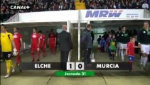 Liga Adelante  Elche 1  Murcia 0