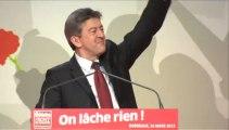 Discours de Jean-Luc Mélenchon au congrès du Parti de Gauche à Bordeaux