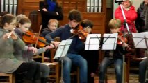 Communion Rameaux 2013 Paroisse de la Paix Amiens . Orchestre de jeunes