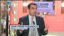 Jean-Pierre Farandou, président du groupe Keolis dans Le Grand Journal - 22 mars 1/4