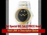 [BEST BUY] Movado Men's 606381 Luno Sport Two-Tone Black Round Dial Bracelet Watch