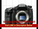 [REVIEW] Sony A77 24.3 MP Digital SLR with Translucent Mirror Technology - Body Only