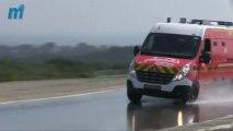 Les pompiers de l Hérault s entraînent à la conduite d urgence sur le circuit Goodyear de Mireval