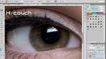 Tutorial 3 : How To Change Eyes Color In Photoshop { H-couch / Tutorial }