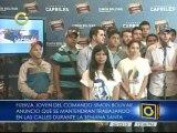 Fuerza Joven del Comando Simón Bolívar llevará propuestas de Capriles a playas, plazas y parques en Semana Santa