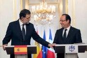 Point de presse conjoint avec M. Mariano Rajoy, président du gouvernement du Royaume d'Espagne