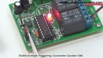 Utiliser un comamnde moteur électrique pour télécommander moteur CC 09 V 12V 24V avec un kit comamnde radio