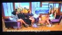 The Game Cast - Jay Ellis, Brandy & Lauren London Stop by Wendy Show