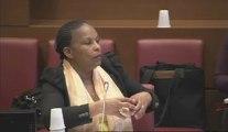Réponses de Mme Christiane TAUBIRA, sur les mesures statistiques de la délinquance