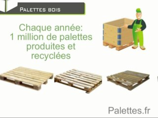 La palette bois, le coeur de métier d'Europ Stocks Services / Palettes.fr
