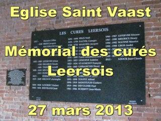 Mémorial des curés de Leers