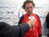Conferenza stampa del 24/03/2013 allo stadio Esseneto con Mr. Pino Rigoli dopo l'amichevole Akragas vs Malta under 21 terminata 1-1