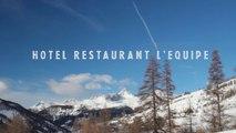 Hôtel Restaurant L'Equipe : intérieur / inside - Molines-en-Queyras, Hautes-Alpes, France