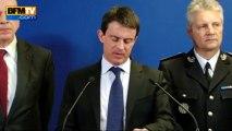 """Valls: l'attaque du RER D ne peut pas rester """"impunie"""" - 27/03"""