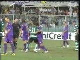 2009 (August 26) Fiorentina (Italy) 1-Sporting Lisbon (Portugal) 1 (Champions League)