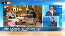 Politique Première: Hollande au plus bas dans les sondages avant son intervention télévisée - 28/03