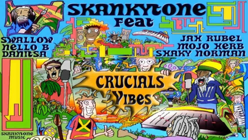 Skankytone Feat Jah Rubel and Danitsa (backin vocals) - All African - Crucials Vibes Album