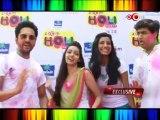 Nautanki Saala team at zoOm Holi party