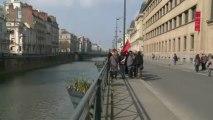 Rennes: manifestation contre le projet de réforme de Peillon
