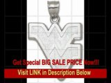 [BEST PRICE] West Virginia Mountaineers Giant 1 1/2 W x 1 1/2 H Outlined WV Pendant - 14KT Gold Jewelry