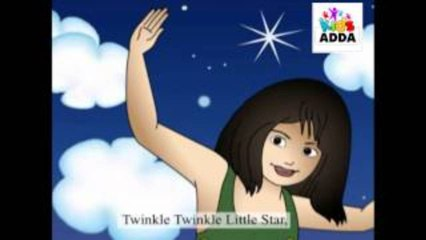 Twinkle Twinkle Little Star ★ English Nursery Rhymes for Children ★
