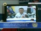 """Comando Simón Bolívar presenta """"más contradicciones"""" en el discurso del pdte. (e) Nicolás Maduro"""