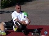 JJOO LONDRES 2012: Así entrena el atleta biónico, Oscar Pistorius