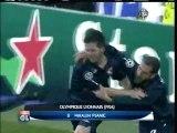 2010 (March 10) Real Madrid (Spain) 1-Olympique Lyonnais (France) 1 (Champions League)