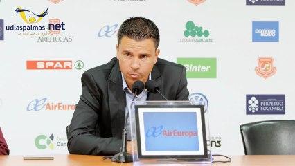 rueda de prensa Sergio Lobera  Ud - Guadalajara - Vídeos de 2012/2013 de la UD Las Palmas