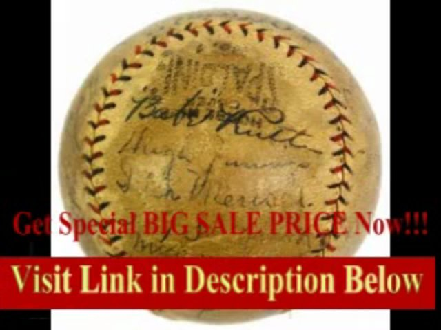 [SPECIAL DISCOUNT] Babe Ruth Signed Baseball – 1924 Ws By 29 W Johnson Cobb R Youngs H Wilson – Json – JSA Certified – Autographed Baseballs…Baseball – 1924 Ws By 29 W Johnson Cobb R Youngs H Wilson – Json – JSA Certified – Autographed Baseballs…
