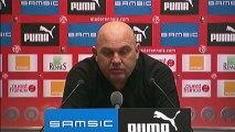 Conférence de presse Stade Rennais FC - AS Nancy-Lorraine : Frédéric  ANTONETTI (SRFC) - Patrick GABRIEL (ASNL) - saison 2012/2013
