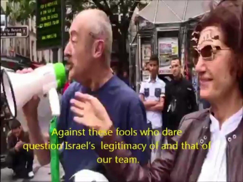 Israel Palestine: Israeli-style football match