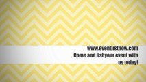 Best Events List Online. Advertise Your Events