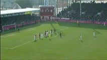 But Florian RASPENTINO (10ème) - Stade Brestois 29 - LOSC Lille (1-2) - saison 2012/2013