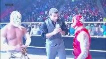 Rey Mysterio, Sin Cara & Randy Orton vs. The Prime Time Players & Alberto Del Rio- WWE Main Event