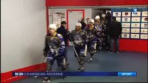 Hockey sur glace: 1/4 de finales Playoffs - Phénix (Reims) / Vipers (Montpellier)