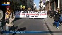 Le DAL manifeste contre les expulsions locatives - 01/04