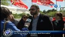 Protesta dei lavoratori Arcadia alla Valle dei templi News-A