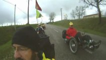 Sortie vélo couché Saint Loup samedi 23 mars 2013