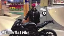 Justin Bieber Gets Costum Bike For Birthday from Father Jeremy Bieber