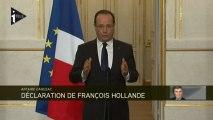 """François Hollande: """"Jérôme Cahuzac n'a bénéficié d'aucune protection"""""""